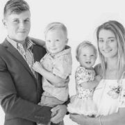 Mother-of-three thanks public for support following husband's death